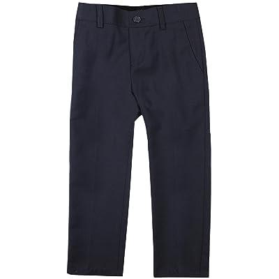 Armando Martillo Boys Flat Front Adjustable Waist Slim Fit Dress Pants