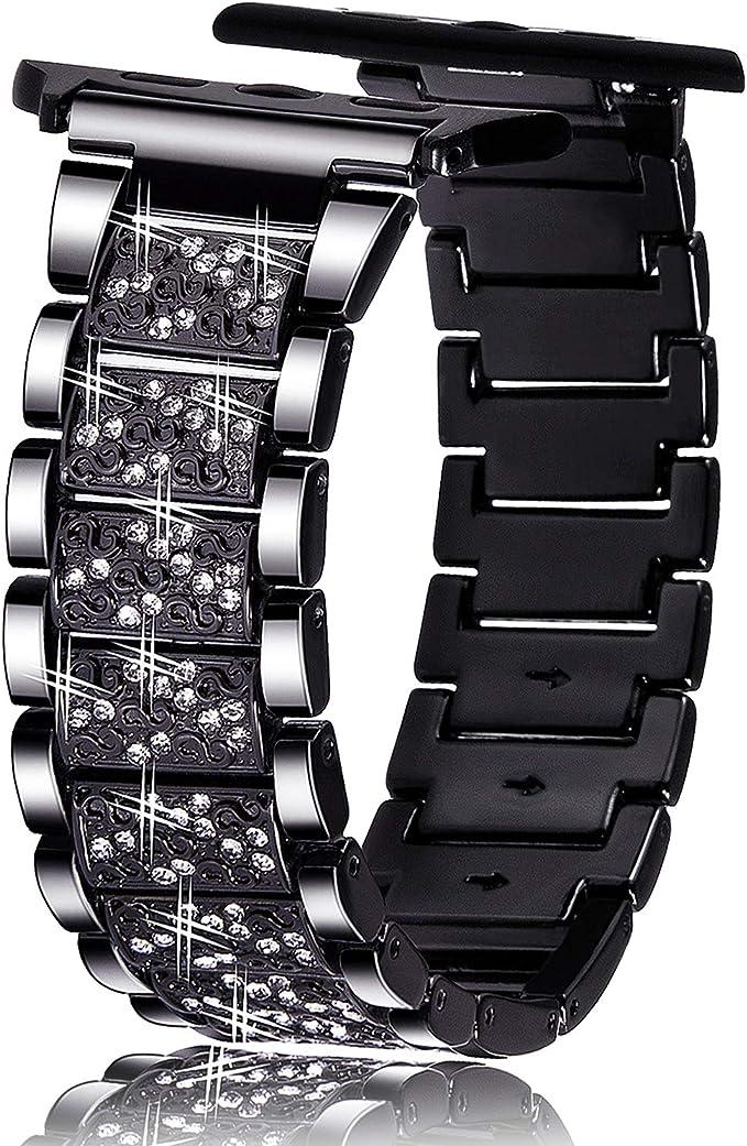 Amazon.com: Viqiv - Correa para Apple Watch, 1.496 in, 1.575 ...