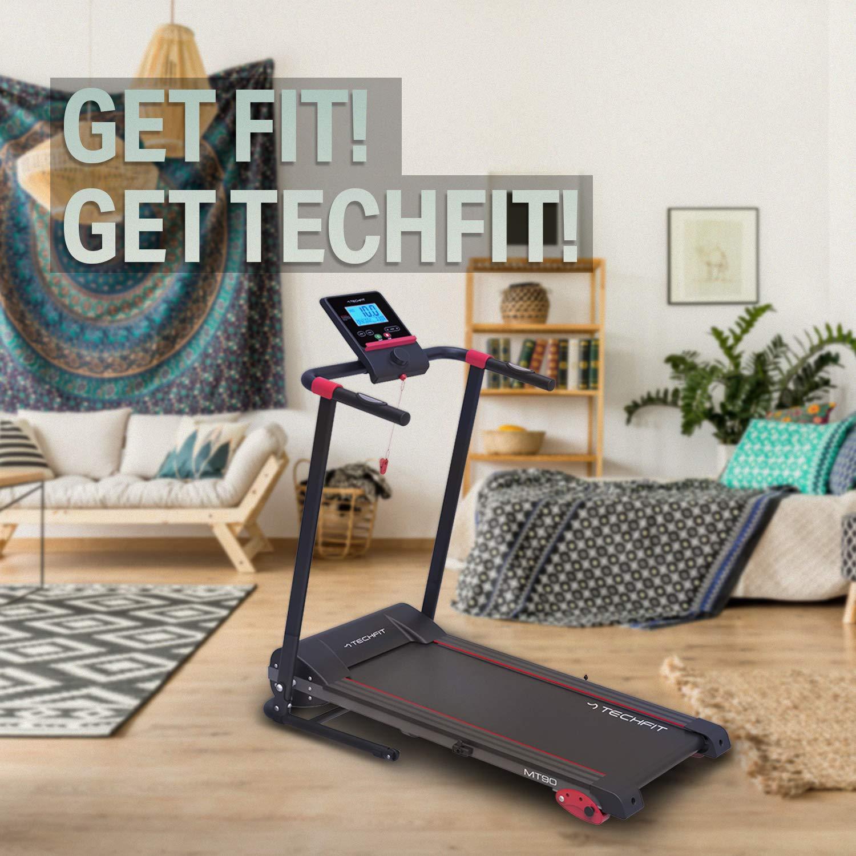 TechFit MT90 Cinta de Correr Motorizada Eléctrica Plegable, 2.5 HP ...