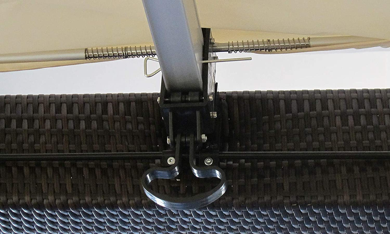 Jet-line – Pergola Heaven II de aluminio – Rattan Protección ...