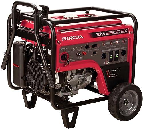 Honda EM6500S Generator w Electric Start