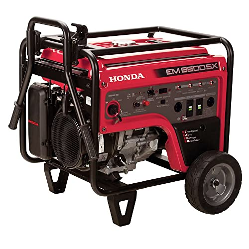 Honda EM6500S Generator w Electric Start