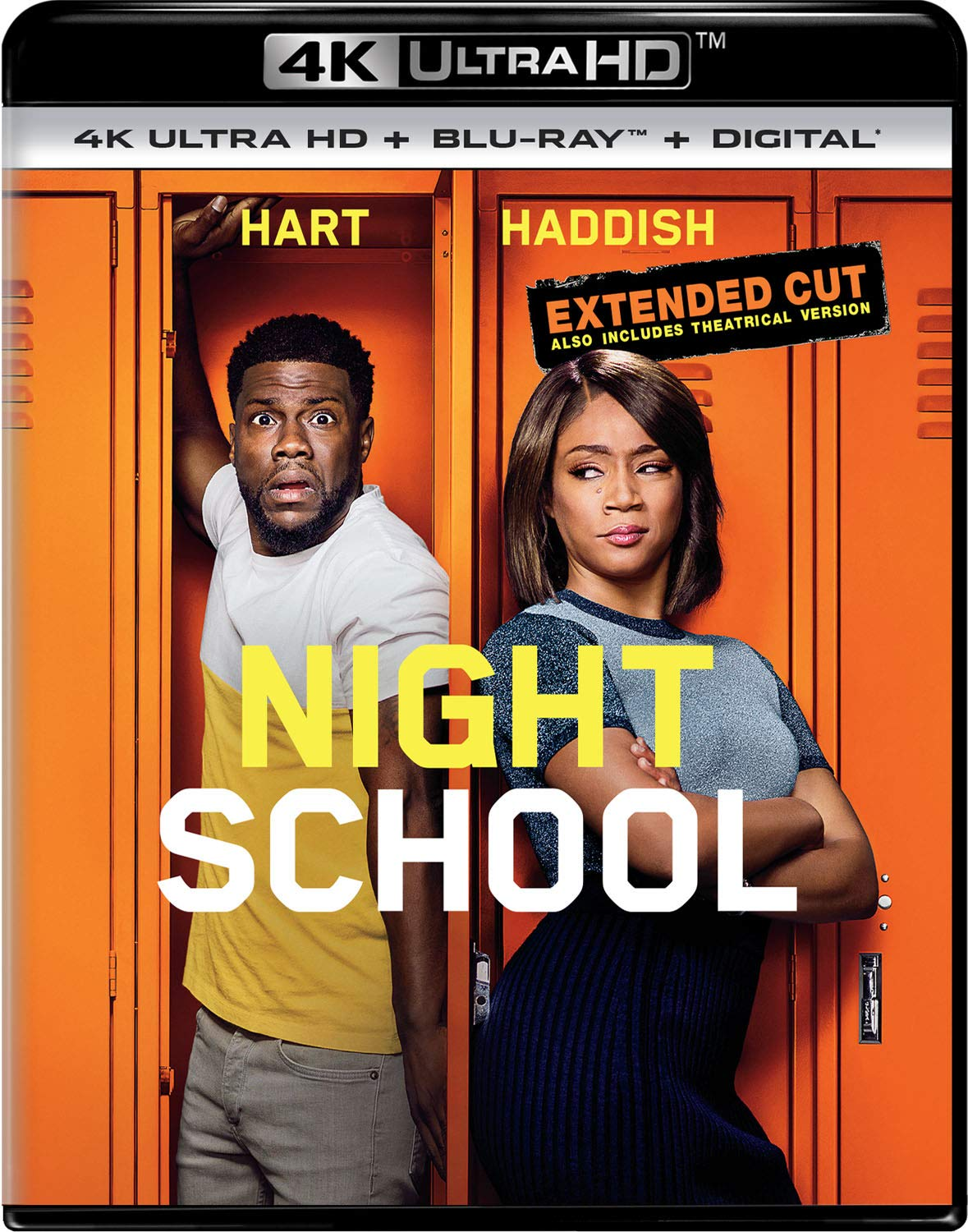 4K Blu-ray : Night School (With Blu-ray, 4K Mastering, 2 Pack)