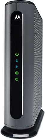 Motorola 24x8 Cable Modem, Model MB7621, DOCSIS 3.0. Approved by Comcast