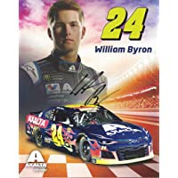 $57 » AUTOGRAPHED 2019 William Byron #24 Axalta Racing (Hendrick Motorsports) Monster Energy Cup Series Signed Picture 8X10 Inch NASCAR Hero…