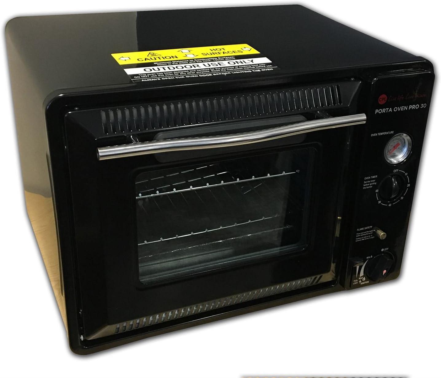 Crusader Porta Oven Pro 30 - Horno portátil de Gas para Acampada, Horno, butano, Camping, Caravana, Autocaravana