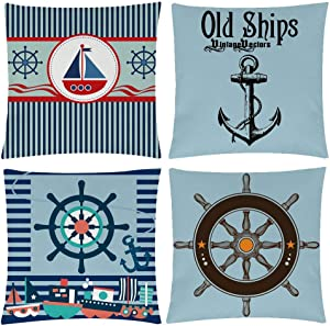 Sweepstakes: Nautical Sailing Decorative Throw Pillow Cover