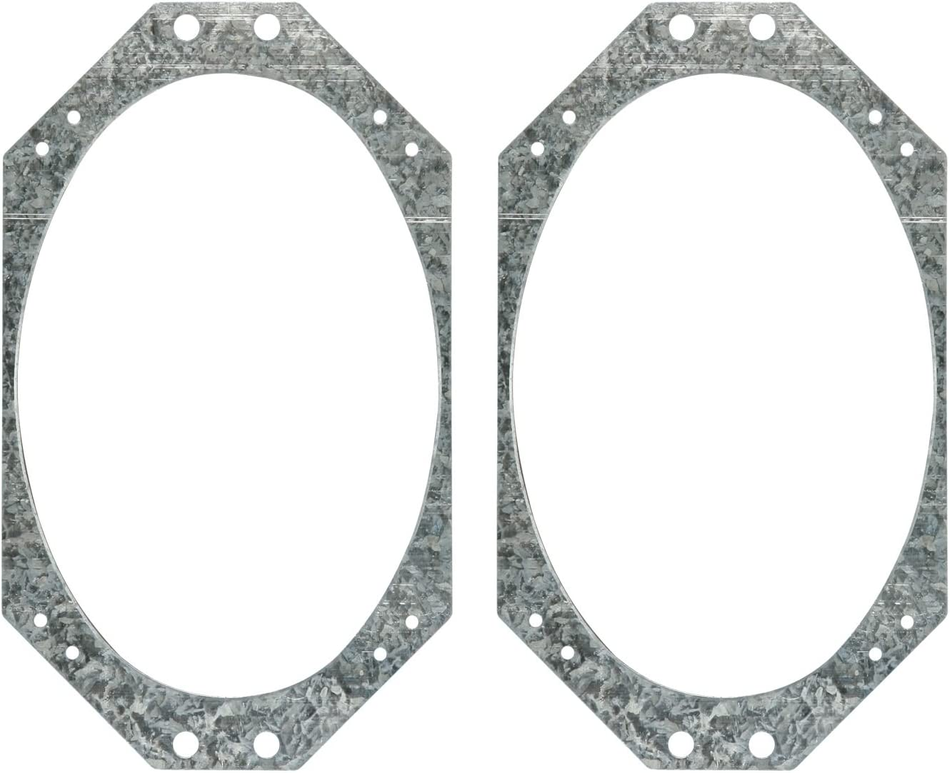 Metra 82-6600 5-1//4 or 6-1//2-Inch Front Door Speaker Adapter for Select 1995-up Chrysler//Dodge//Jeep Vehicles Metra Electronics Corp