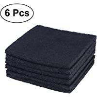 UEETEK 6Pcs Replacement Carbon Filter for Hooded Litter Tray