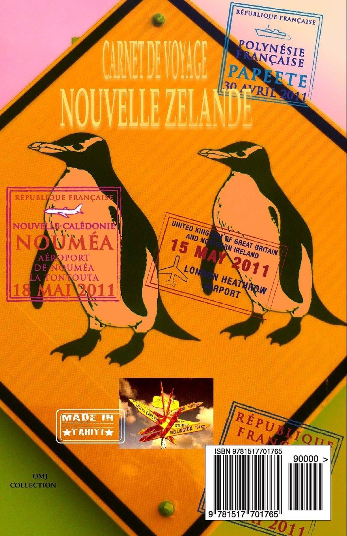 NOUVELLE ZELANDE. Carnet de voyage: Agenda de voyage ...