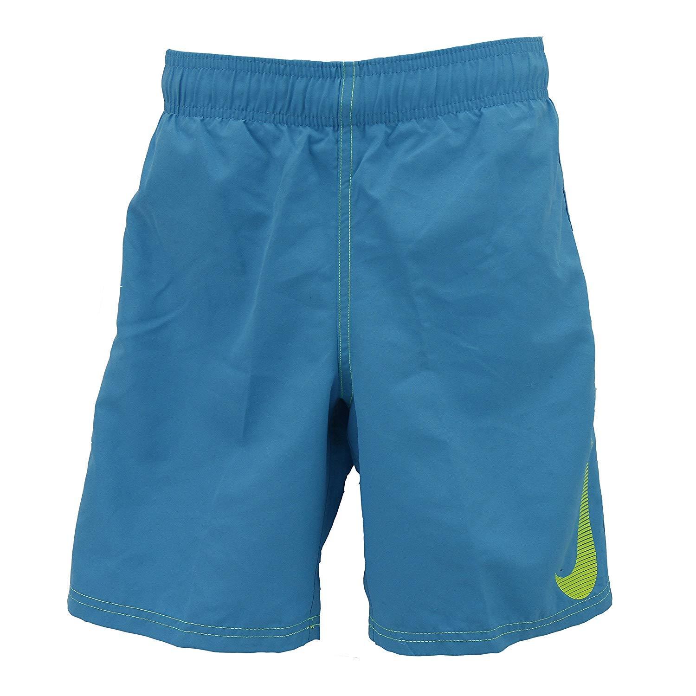 Nike Boys Volley 4'' Symbol Swim Shorts - Turquoise (Large)