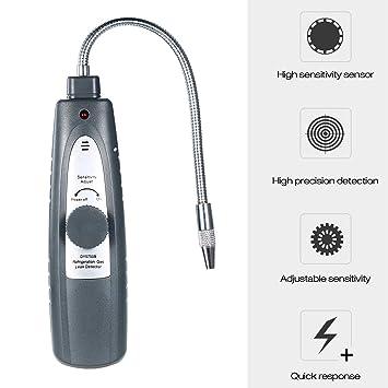 KKmoon - Detector de Fugas de Gas para refrigeración, Detector de ...