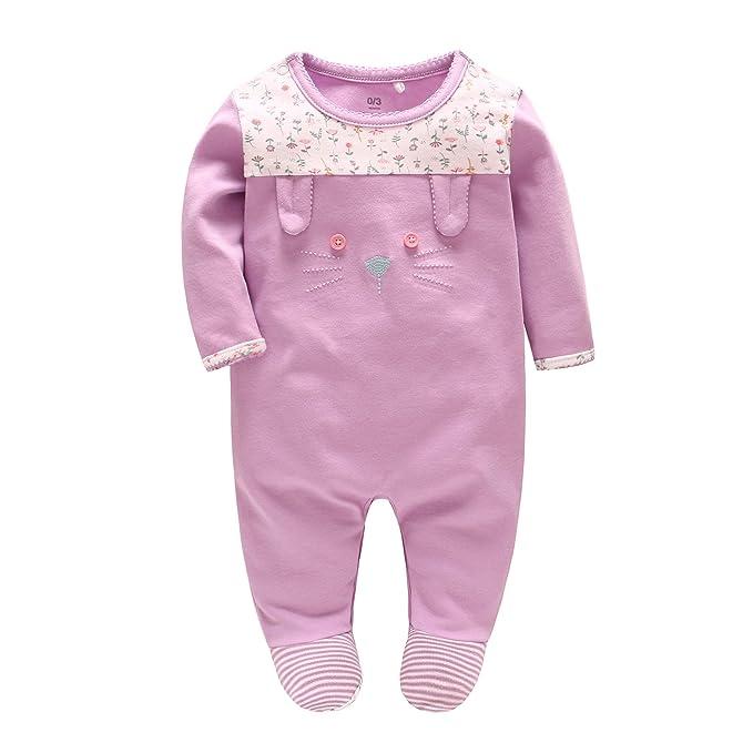 2a85870f2fef9 JooNeng Baby Girl Jumpsuit Romper Pajamas Newborn Toddler Cute ...