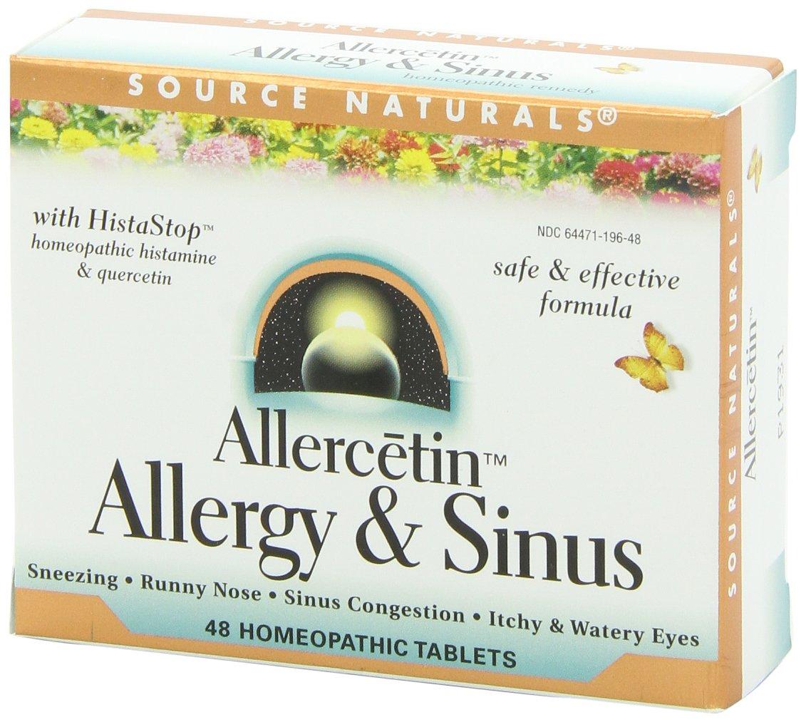 Allercetin Allergy & Sinus 48 Tablet (Pack of 4)