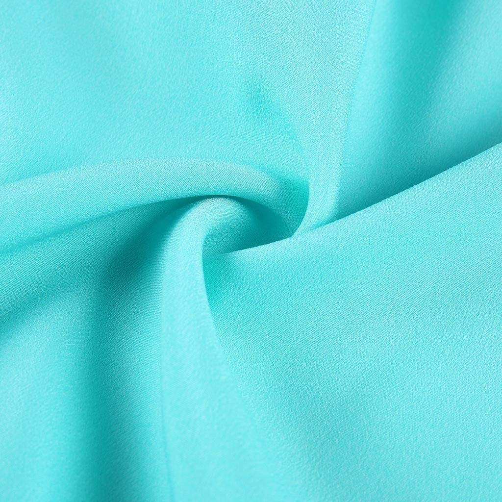 iLPM5 Womens Fashion Chiffon Stitching Lace V-Ausschnitt /Ärmelloses Shirt Tops Bluse