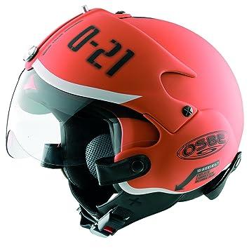 Amazon.com: Open Face casco para patinete OSBE GPA Aeronaves ...