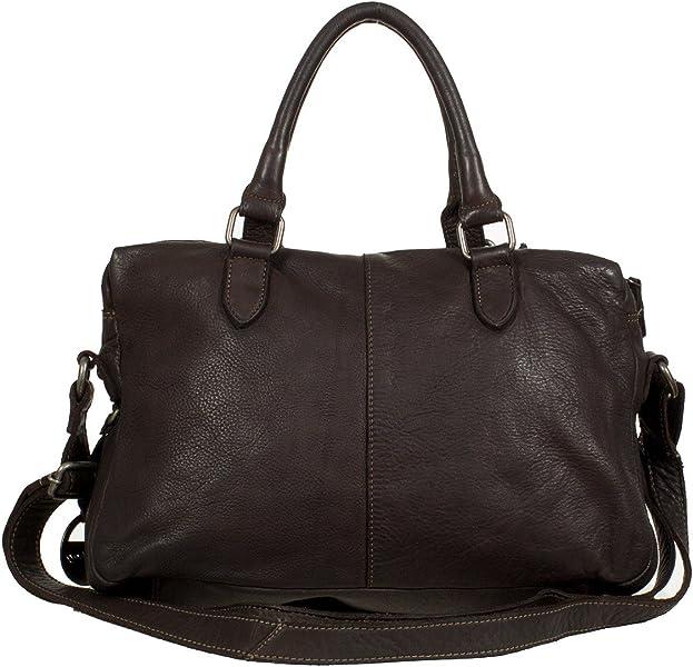 ea2dabf71d6f1 Funbag Handtasche - Umhängetasche aus weichem Glattleder (36 x 25 x ...