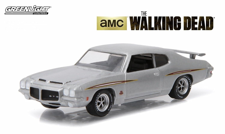 1971 /'71 PONTIAC GTO THE WALKING DEAD ZOMBIE GREENLIGHT HOLLYWOOD DIECAST 2016
