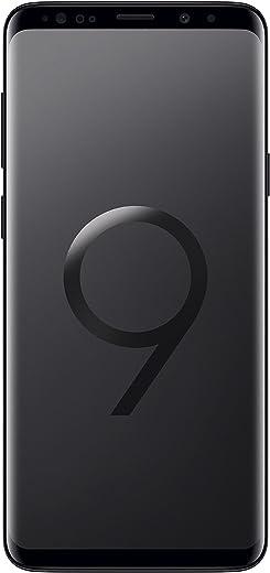 "Samsung Galaxy S9+ Smartphone, Nero(Midnight Black), Display 6.2"", 64 GB Espandibili, Dual SIM [Versione Internazionale]"