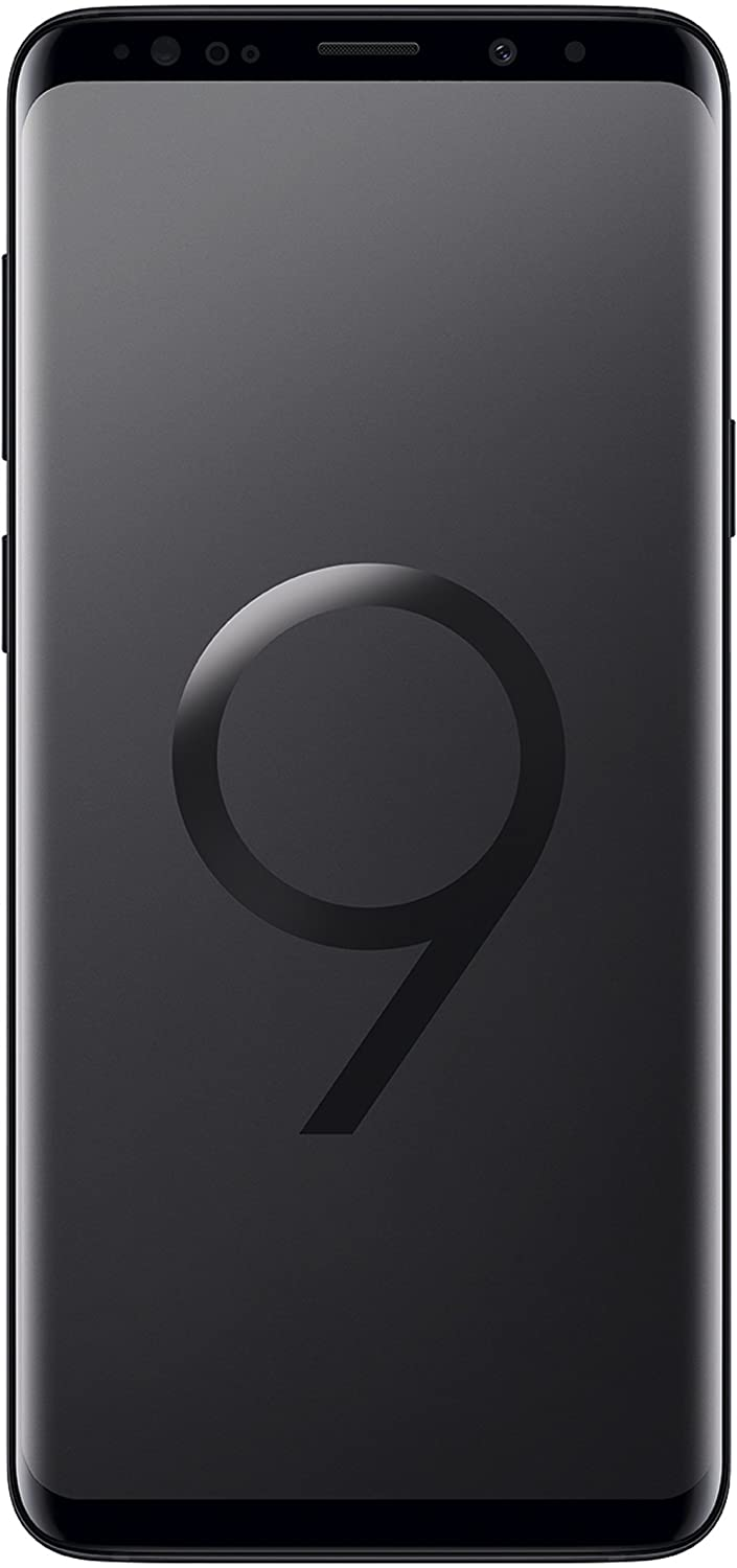 "Samsung Galaxy S9+ Smartphone, Nero(Midnight Black), Display 6.2"", 64 GB Espandibili, Dual SIM [Versione Internazionale]"