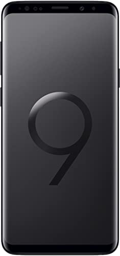 Samsung Galaxy S9 Plus (Single SIM) 128 GB 6.2-Inch Android 8.0 Oreo UK Version SIM-Free Smartphone - Midnight Black