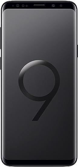 Samsung Galaxy S9 Plus (SM-G9650/DS) 6 2-inches LTE Dual SIM Factory  Unlocked - International Stock No Warranty (Midnight Black, 64GB)