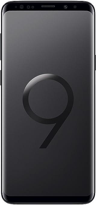 "Samsung Galaxy S9+ Smartphone, Nero (Midnight Black), Display 6.2"", 64 GB Espandibili, Dual SIM [Versione Italiana]"