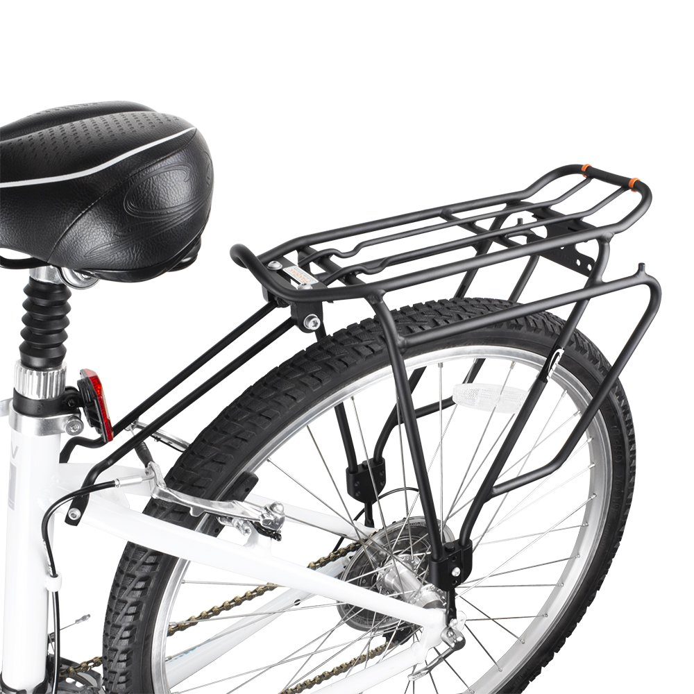 Ibera Bike Rack - Bicycle Touring Carrier Plus+ for Non-Disc Brake Mount, Frame-Mounted for Heavier Top & Side Loads, Height Adjustable for 26''-29'' Frames by Ibera (Image #6)
