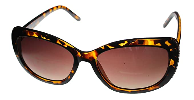 Esprit Women's ET 19455 545 Tortoise Rectangle Plastic Sunglass