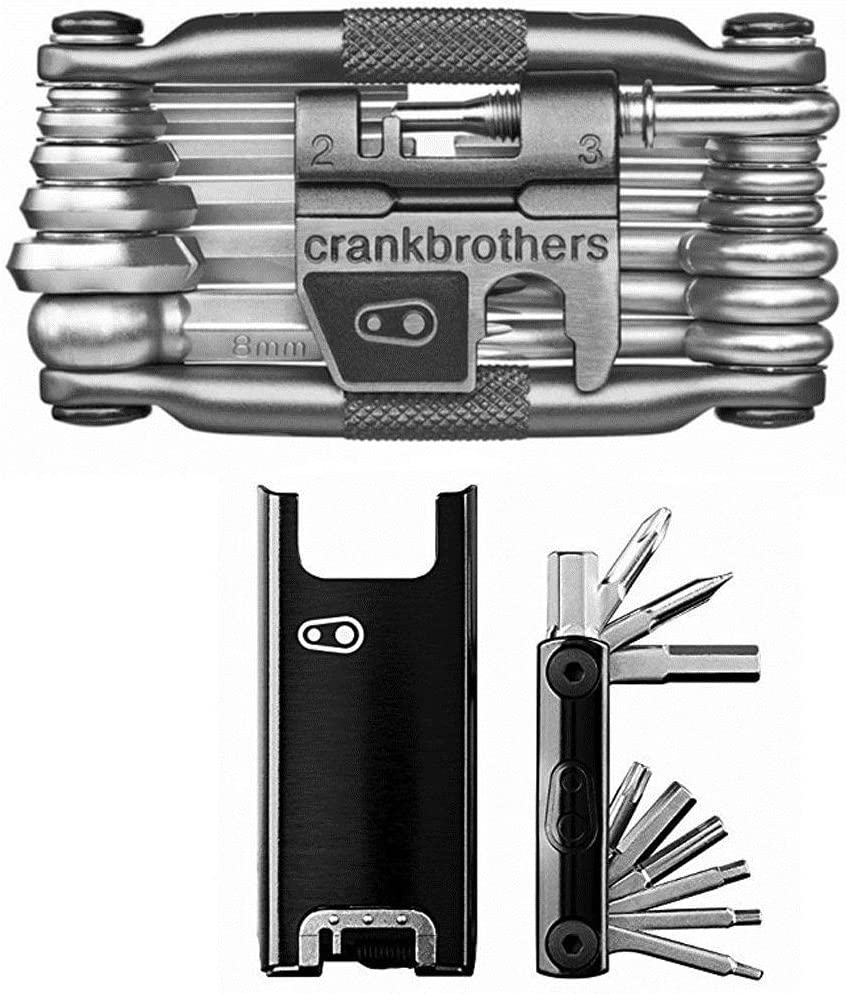 CRANKBROTHERs Crank Brothers F-15 Tool and M19 Bicycle Multi Tool The Smart Cyclist s Pocket Maintenance Kit