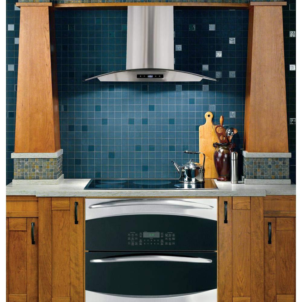 Amazon.com: Cosmo 668AS750 30 in. Wall Mount Range Hood with ...