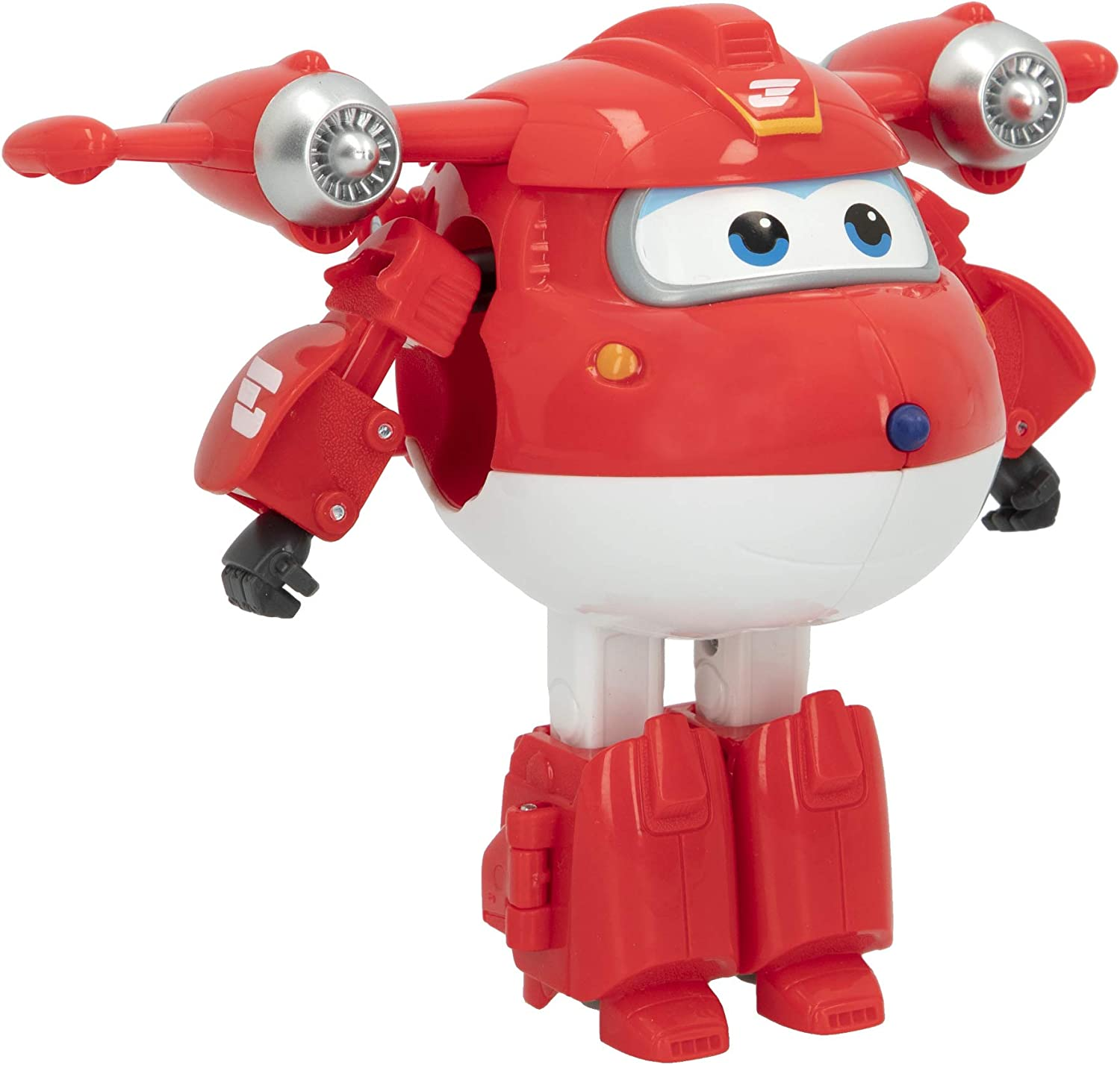 Super Wings - Figura Jett Super Wings transformable, Superwings transformables, Figuras de juguete, Robot Avión Juguete, Superwings transformables, Super Alas, Avión juguete, Super Wings juguetes