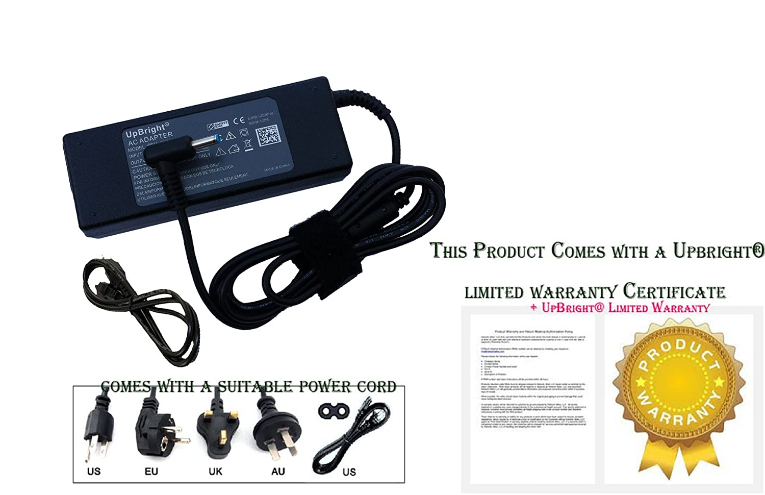 AC Adapter Charger for HP Beats Special Edition 15-p390nr, 15-p030nr