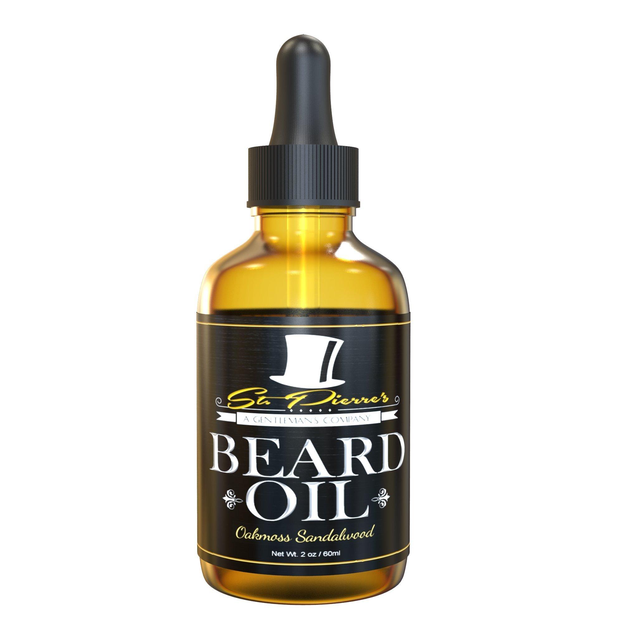 Best Sandalwood Beard Oil & Conditioner for Men - 2oz