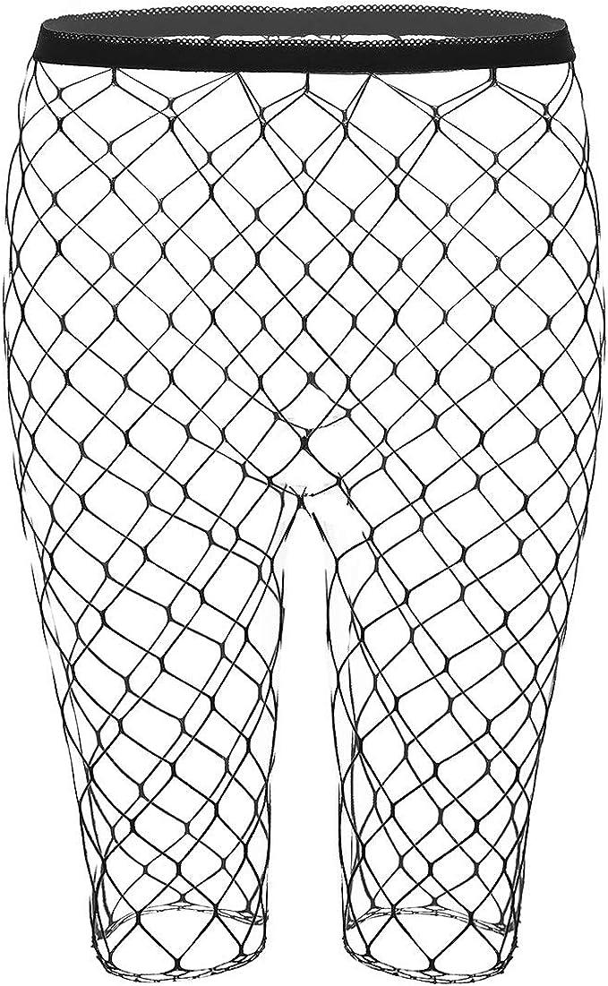 TiaoBug Short Femme Collant Maille Legging
