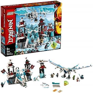 LEGO Ninjago - Castillo del Emperador Olvidado Set de construcción de Aventuras Ninja con Dragón de Juguete, Novedad 2019 (70678)