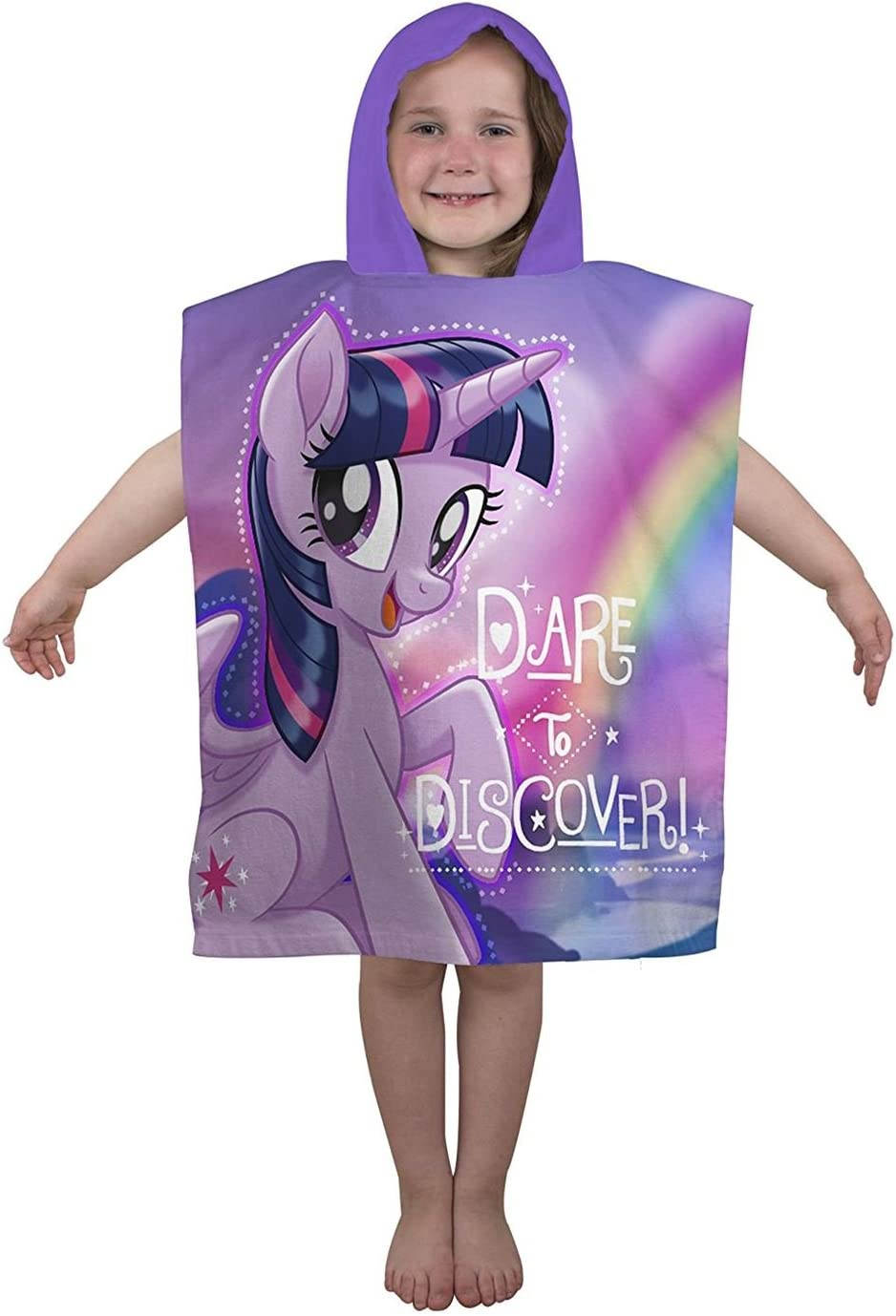 Hasbro My Little Pony Movie Adventure Kids poncho