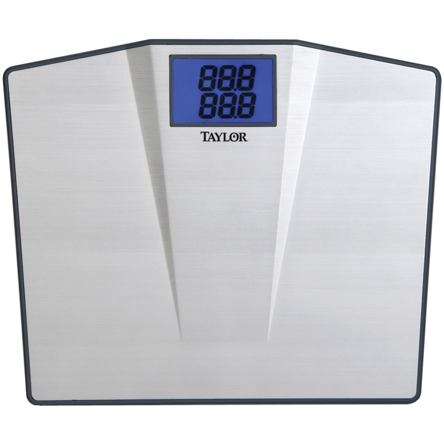bathroom scale scales taylor home the max cal p glass gray digital depot