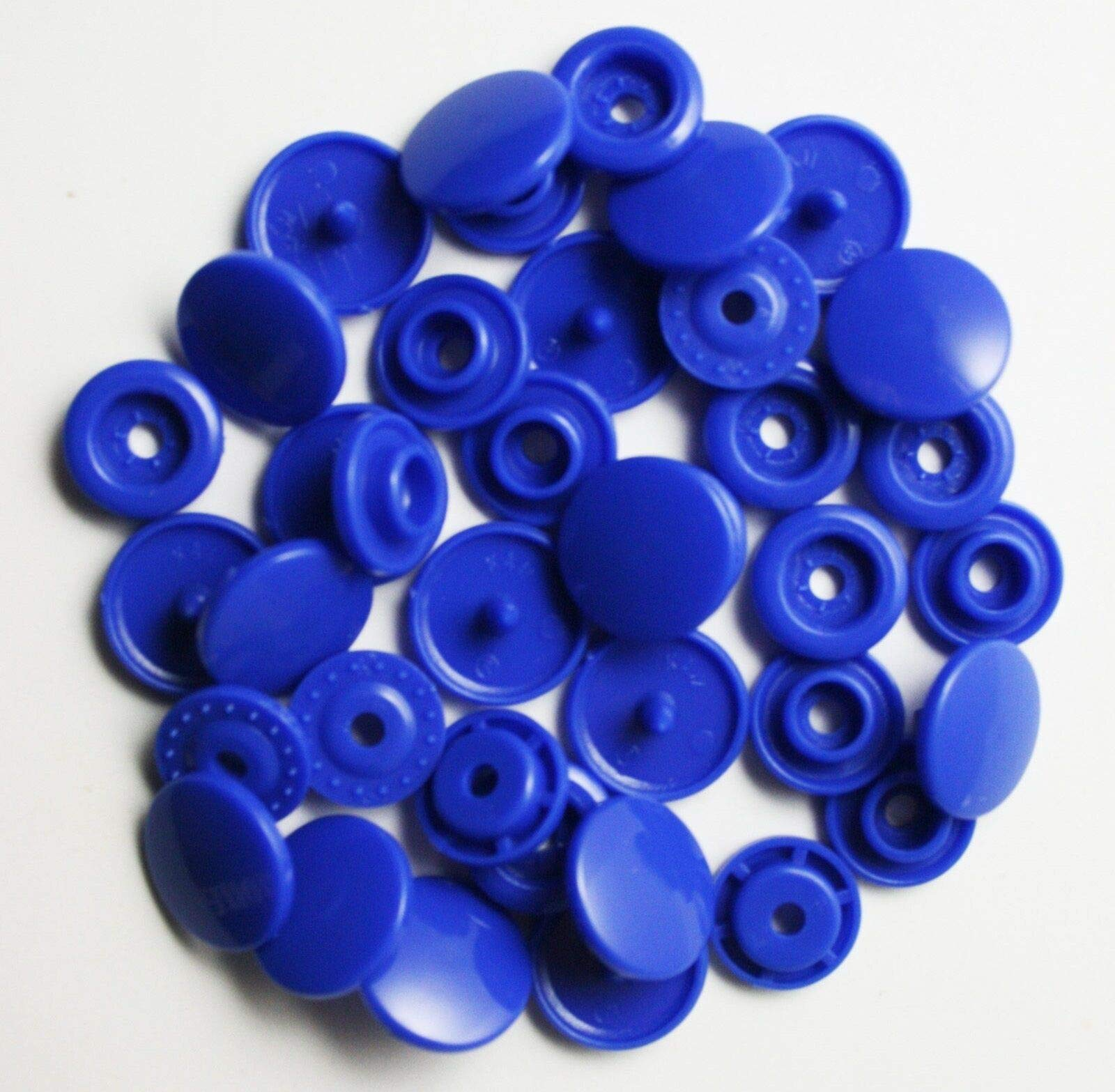 1000 Set Plastic Resin Snaps Crafts (Blue) WT by Eternal Cover