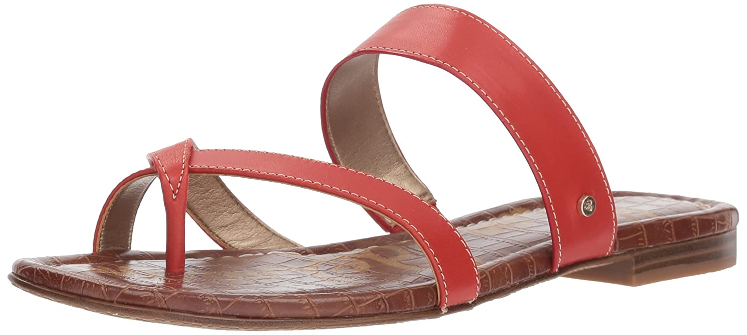 Sam Edelman Women's Bernice Slide Sandal B078HL9P2S 9.5 B(M) US|Candy Red
