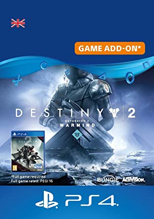 Destiny 2 - Expansion II - Warmwind DLC | PS4 Download Code - UK
