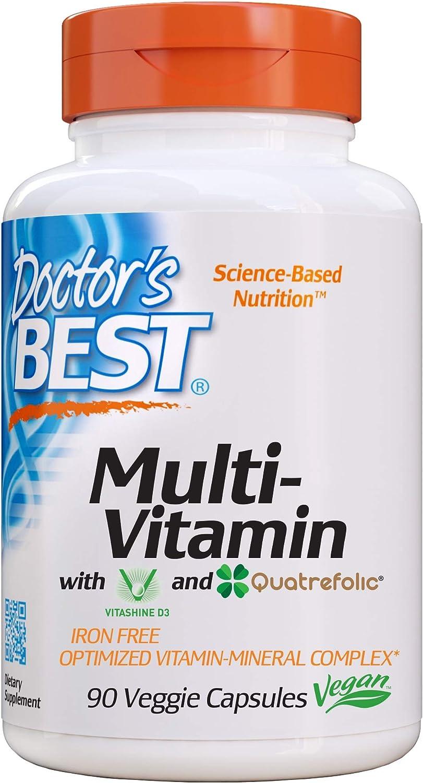 Doctors Best Multivitaminico - 90 Cápsulas V 90 Unidades 140 g ...