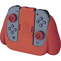 Nintendo Switch Joy-Con Action and Thumb Grips - Red Textured Silicone