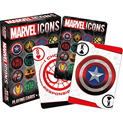 Aquarius Marvel Icons Playing Card: Toys & Games
