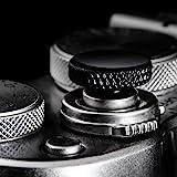 Camera Shutter Button (2 Pack/Black) Upscale and Delicate Soft Shutter Release Button