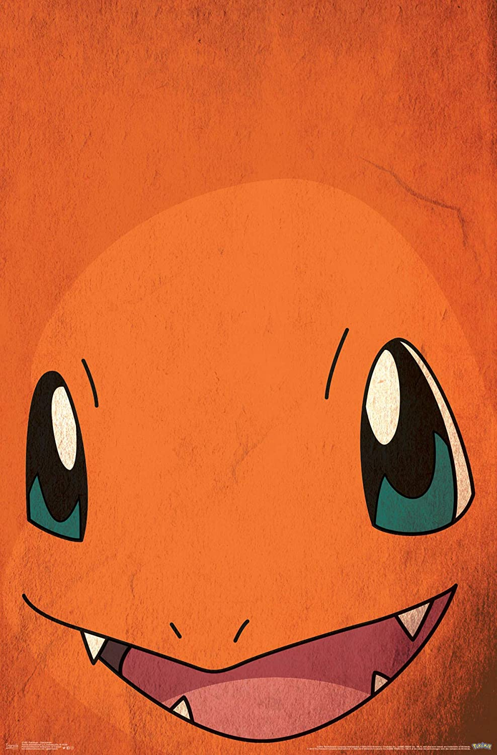 Trends International Pokemon Charmander Wall Poster 24.25 x 35.75 Multi
