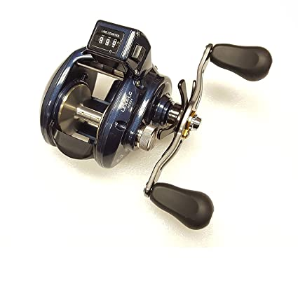 ab4e15edb87 Image Unavailable. Image not available for. Color: Daiwa Reels Line Counter  LEXA-LC400H Lexa 400Linecounter Baitcasting Reel