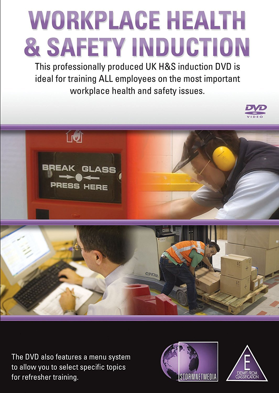 workplace health safety induction dvd amazon co uk ian workplace health safety induction dvd amazon co uk ian stainton dvd blu ray