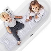 Alfombra De Baño Antideslizante, Alfombrilla para Bañera para Bañeras con Potentes Ventosas, Lavable a Máquina…