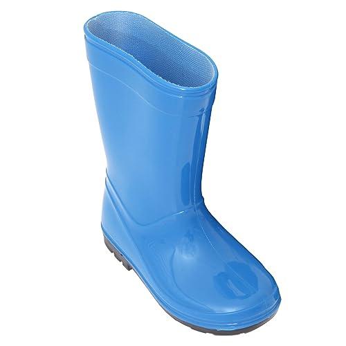 Amazoncom  ChildrensKids Unisex Plain WellyWellington Rain Boots  Rain  Boots